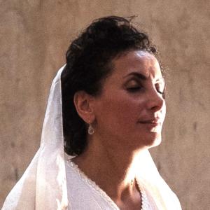 Maria Kaplan im Gebet
